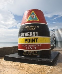 Southernmost Point Mile Marker Zero