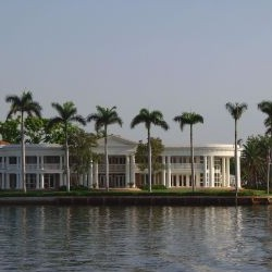 Fort Lauderdale Canal Mansion